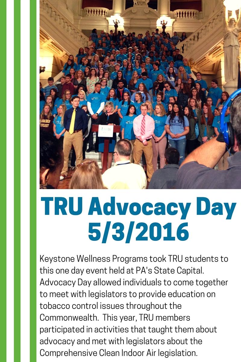 TRU Advocacy Day